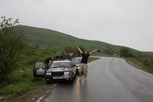 Georgien, Pass zwischen Tiflis und Lagodehki Abfahrt