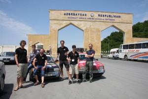 Aserbaidschan - Grenzübertritt von Georgien