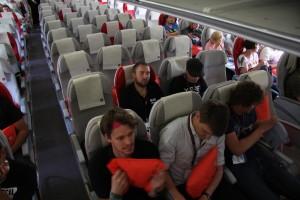 Flug nach Jordanien